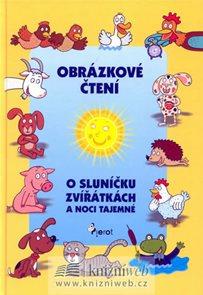 Obrázkové čtení o sluníčku, zvířátkách a noci tajemné + CD