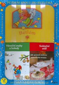 Vánoční krabička - 2 knížky+CD+betlém