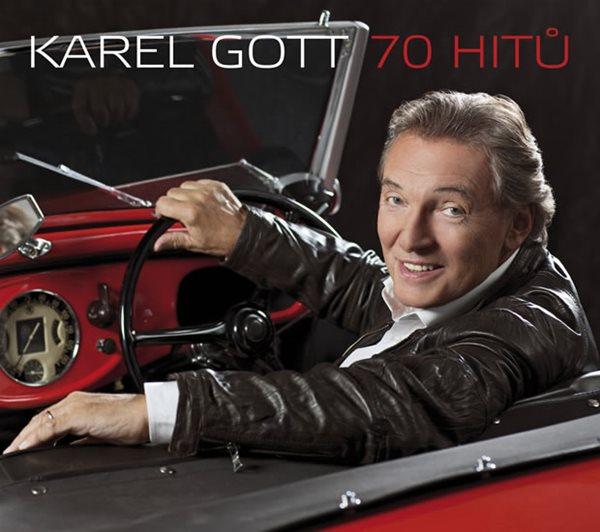 CD Karel Gott 70 hitů - Gott Karel - 13x14 cm