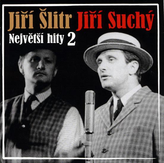 Největší hity 2 - Šlitr a Suchý - CD - Suchý Jiří, Šlitr Jiří
