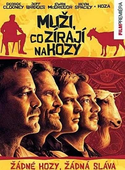 Muži, co zírají na kozy - DVD - neuveden
