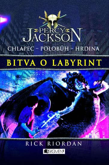 Percy Jackson 4 – Bitva o labyrint - Riordan Rick
