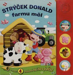 Strýček Donald farmu měl - 4 zvuková tlačítka a písnička!