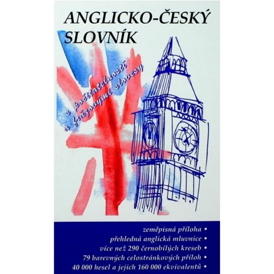 Anglicko-český slovník s počitatelností a frázovými slovesy - Obrtelová a kolektiv Radka