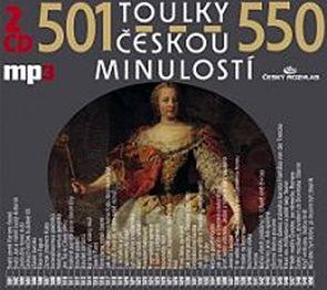 Toulky českou minulostí 501-550 - 2CD/mp3