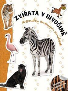 Zvířata v divočině - Samolepková knížka