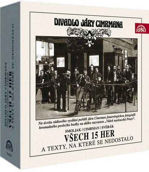 Divadlo Járy Cimrmana - Všech 15 her a texty, na které se nedostalo 17CD - Cimrman, Smojak, Svěrák