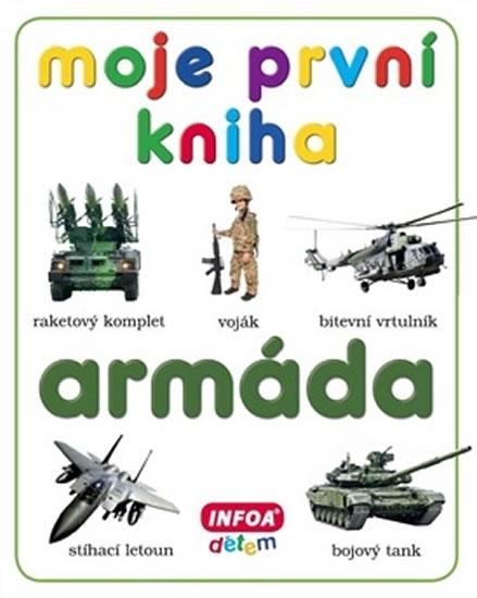 Moje první kniha - Armáda - kolektiv autorů