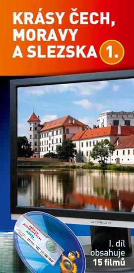 Krásy Čech, Moravy a Slezska 1 - 15 DVD - neuveden - 15x30 cm