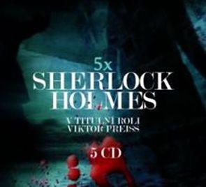 5 x Sherlock Holmes - 5CD