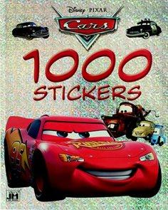 1000 samolepek Auta