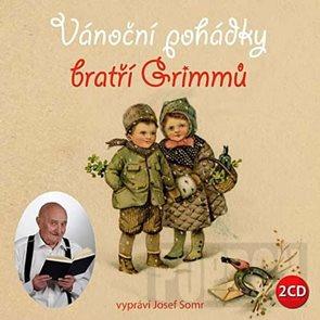 Vánoční pohádky bratří Grimmů - 2CD (čte Josef Somr)