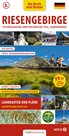 Krkonoše, Jizerské hory - kapesní průvodce/německy