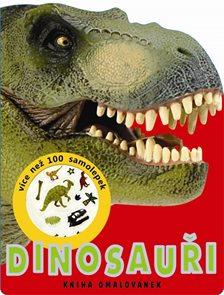 Dinosauři - kniha omalovánek - více než 100 samolepek