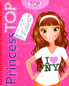 Princess TOP My T-shirts 1 (růžová)