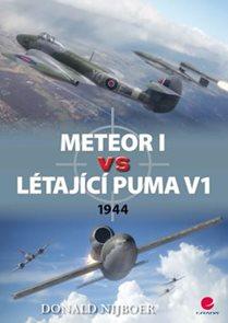 Meteor I vs létající puma V1 - 1944