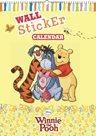 Kalendář - W. Disney Medvídek Pú - kalendář se samolepkami na zeď - nedatovaný