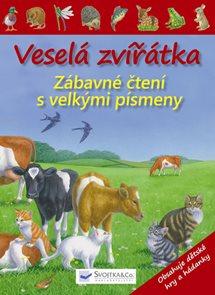 Veselá zvířátka - Zábavné čtení s velkými písmeny