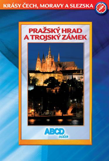 DVD Pražský Hrad a Trojský zámek - Krásy ČR - neuveden - 13x19 cm