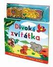 Divoká zvířátka - Magnetická knížka s hrací deskou