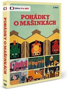Pohádky o mašinkách - 2 DVD