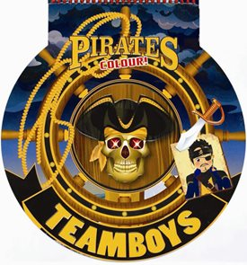 TEAMBOYS Pirates Colour! – kormidlo