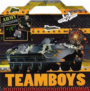 TEAMBOYS Army Stickers!
