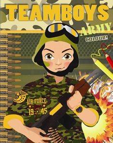 TEAMBOYS Army Colour!