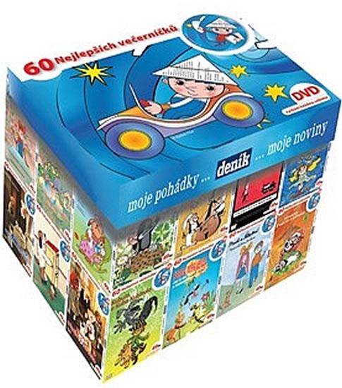 Večerníčkový BOX DVD - kolekce 63 večerníčků na DVD - kolektiv autorů, Doprava zdarma