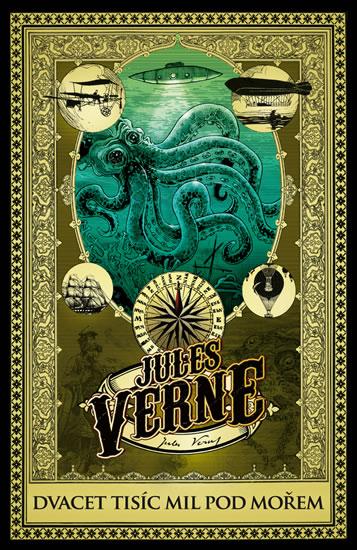 Dvacet tisíc mil pod mořem - Verne Jules - 14x21 cm