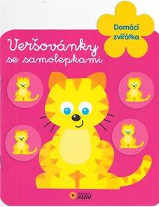 Domácí zvířatka - Veršovánky se samolepkami