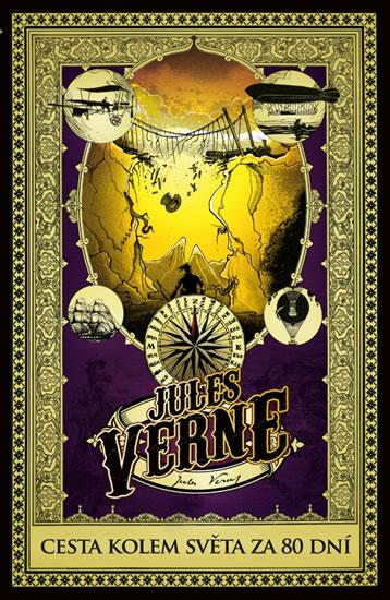 Cesta kolem světa za 80 dní - Verne Jules - 14x21 cm