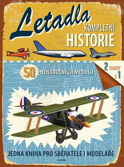 Letadla - Kompletní historie - neuveden - 22x30 cm