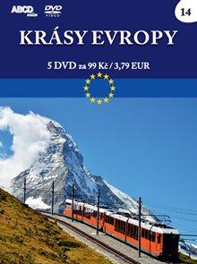 Krásy Evropy - 5 DVD
