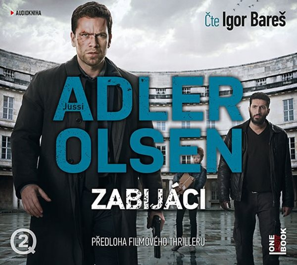 CD Zabijáci - Adler-Olsen Jussi - 13x14 cm