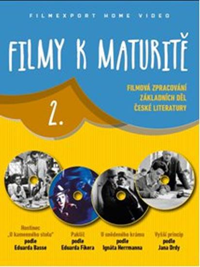 Filmy k maturitě 2 - 4 DVD (digisleeve) - neuveden