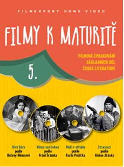 Filmy k maturitě 5 - 4 DVD (digisleeve) - neuveden