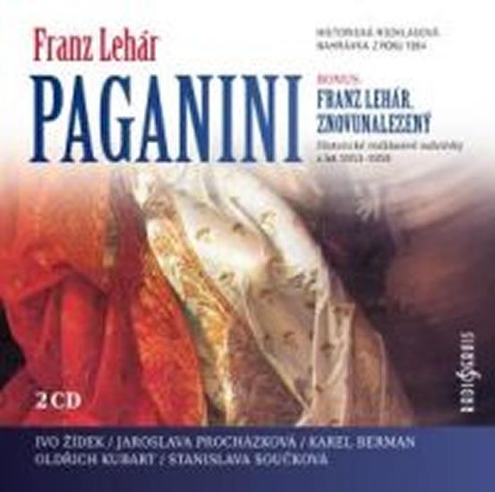 Paganini - 2 CD - Lehár Franz