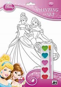 Disney Princezny - Omalovánkové sety A4