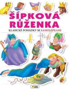 Šípková Růženka - Klasické pohádky se samolepkami