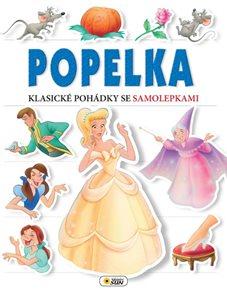 Popelka - Klasické pohádky se samolepkami