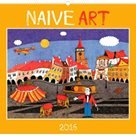 Kalendář nástěnný 2016 - Naivní umění,  48 x 46 cm
