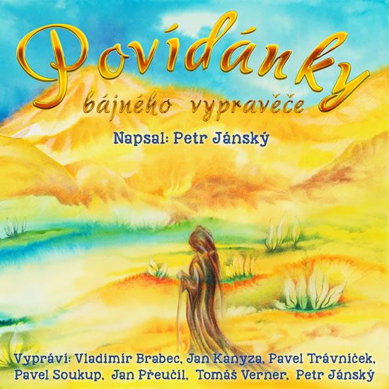 Povídánky bájného vypravěče + 3 DVD - Jánský Petr - 14x19 cm