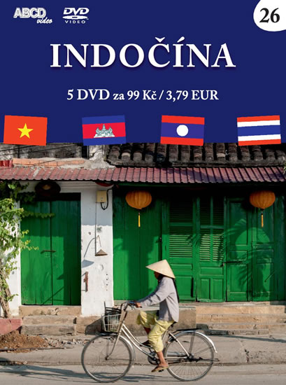 Indočína - 5 DVD - neuveden