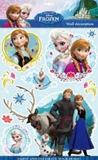 Ledové království - 3D samolepky na zeď (1) - Disney Walt - 30x50 cm