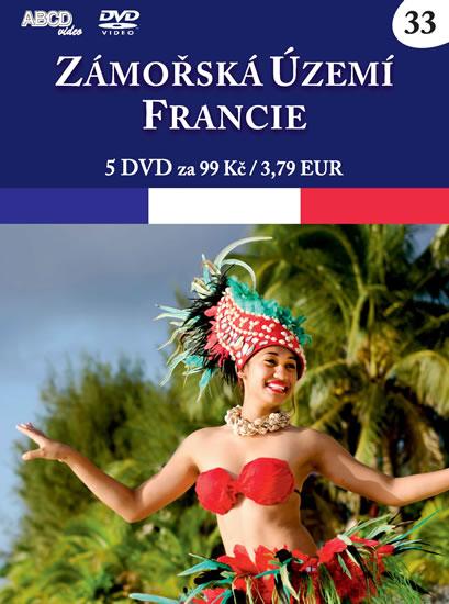Zámořská území Francie - 5 DVD - neuveden