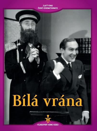 DVD Bílá vrána (digipack) - neuveden - 14x19 cm