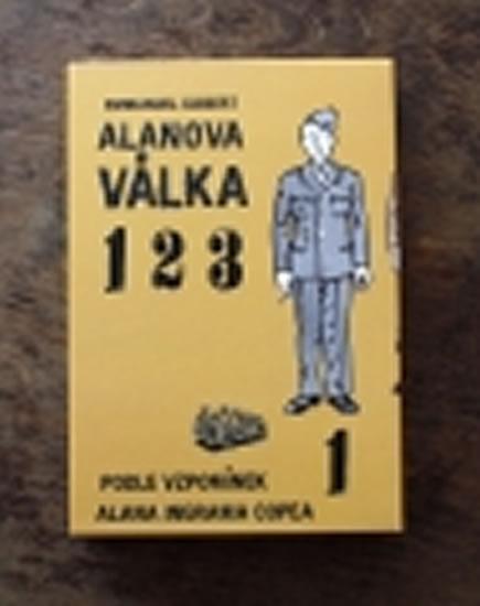 Alanova válka - Souborné vydání 1-3 - Guibert Emmanuel - 17x24 cm