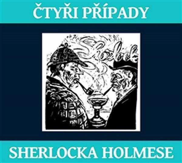 CD Čtyři případy Sherlocka Holmese - Doyle Arthur Conan - 13x14 cm