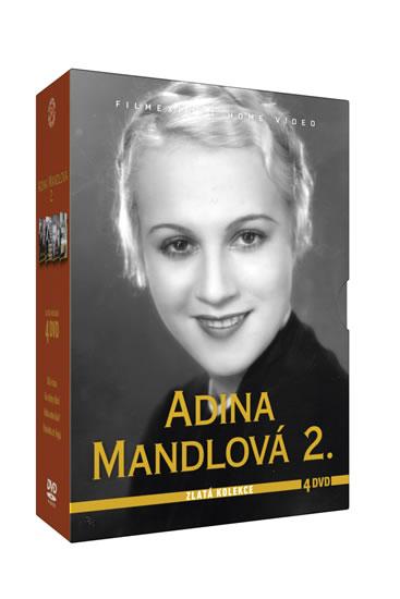 Adina Mandlová 2. - Zlatá kolekce - 4DVD - neuveden
